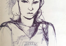 Girl Portrait sketch